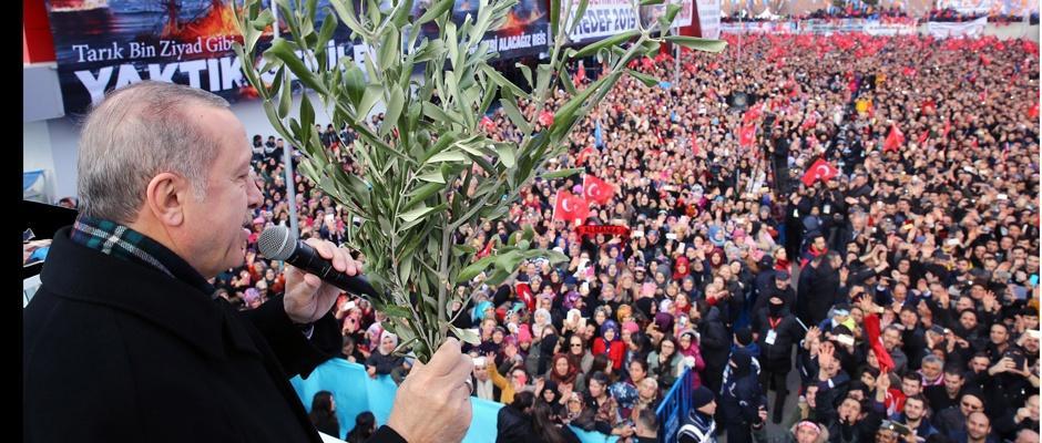 Erdoğan, Büyükşehir'i işaret etti