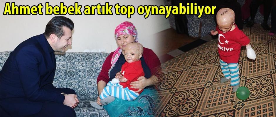 Doğan'dan Ahmet bebeğe ziyaret