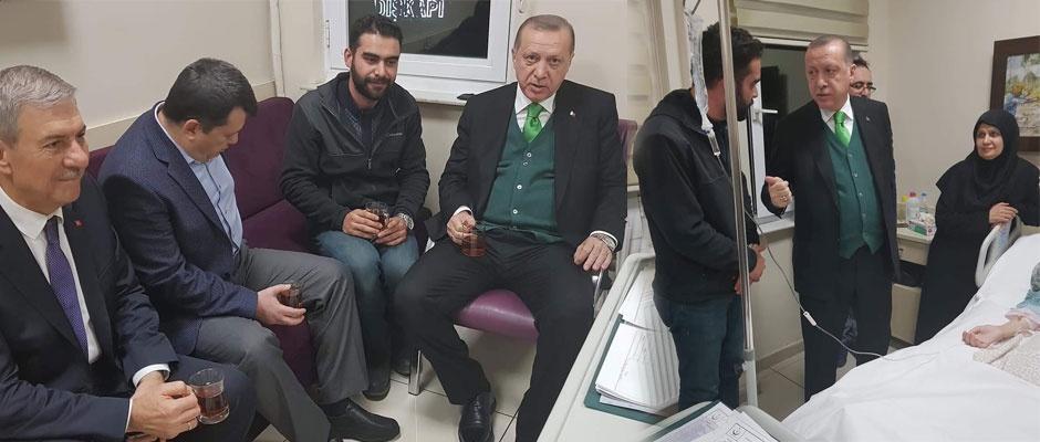 Çavdar ailesine Cumhurbaşkanı desteği