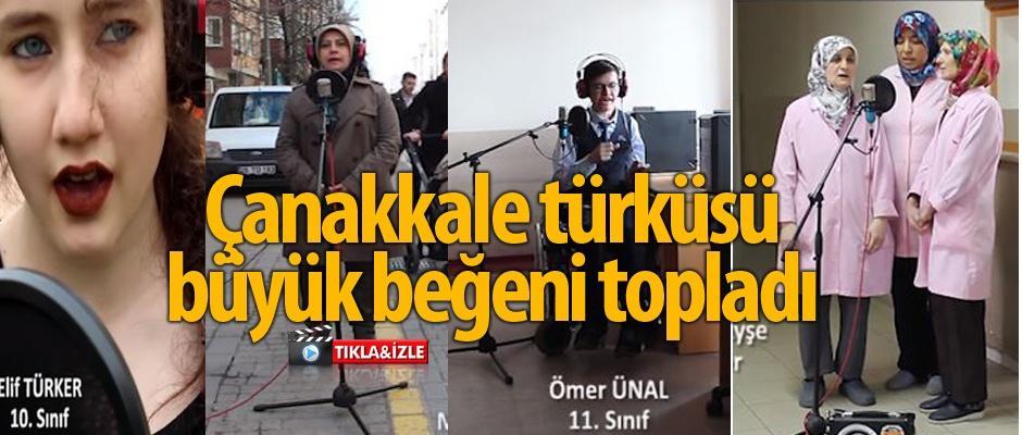 Öğrencilerden Çanakkale Zaferi'nin 103. yılına özel klip