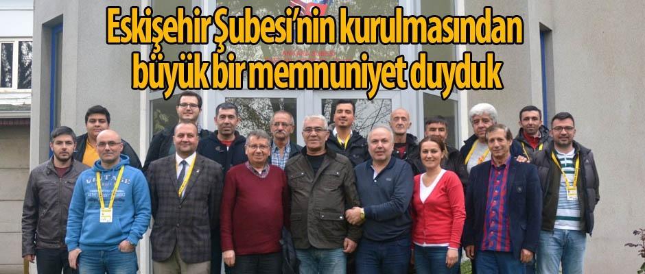 Eskişehir TSYD'den Ankara TSYD'ye ziyaret