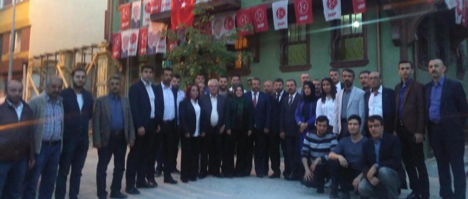 MHP Odunpazarı seçime hazır .
