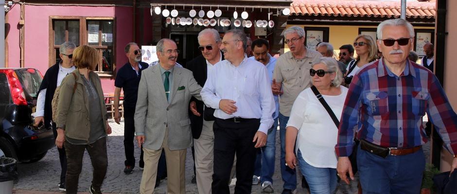 Angora Yürüyüş Grubu'ndan Eskişehir'e övgü