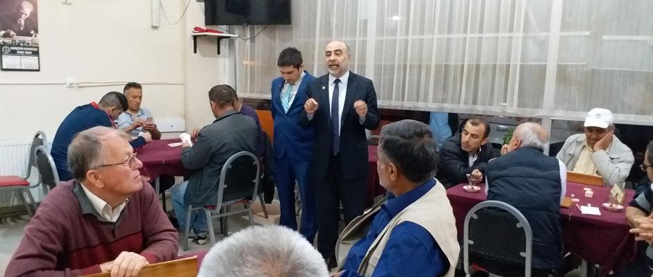 SP'li adaylar, 71 Evler'de