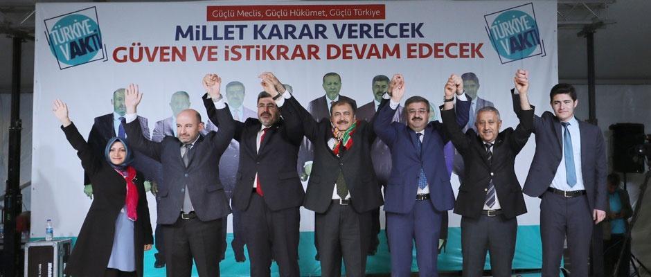 Onlar konuşur, AK Parti yapar