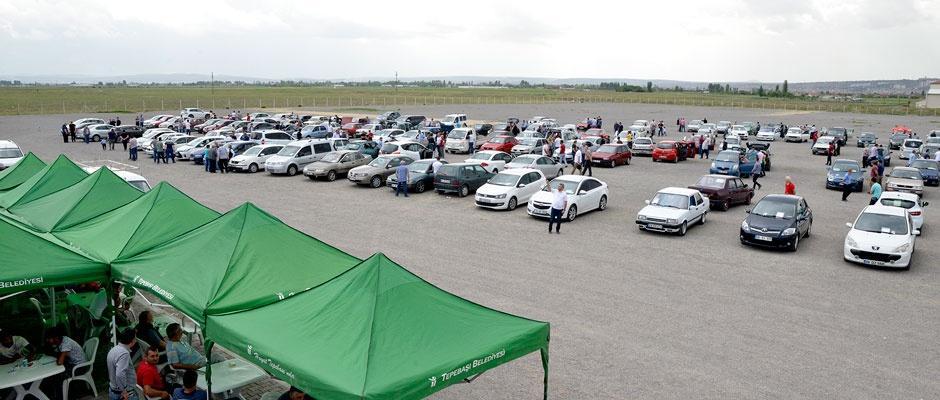 Otomobil pazarı bu hafta sonu da ücretsiz