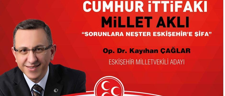 """""""Sorunlara Neşter Eskişehir'e Şifa"""" sloganı ile yola çıkıyoruz"""
