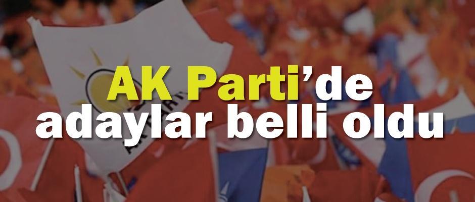 İşte Eskişehir AK Parti adayları