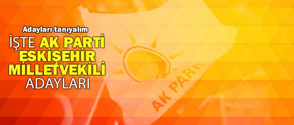 AK Parti Eskişehir Milletvekili adaylarını tanıyalım