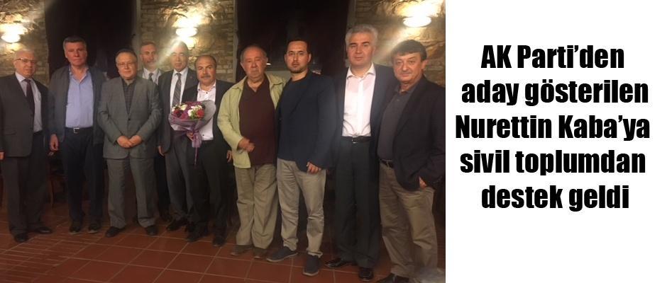 Kaba'ya ESİP'ten destek