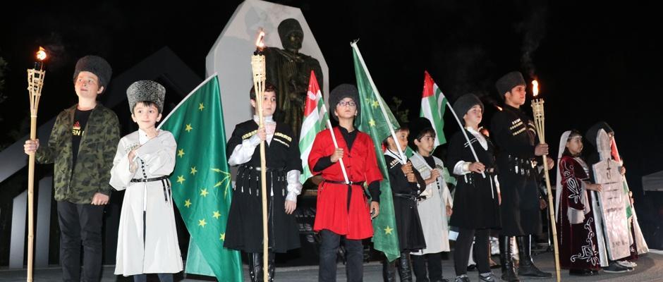 Çerkes Soykırımı yıldönümünde tören düzenlendi