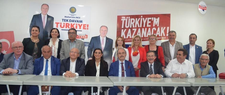İnce'nin ilk seçim bürosu Eskişehir'de açıldı