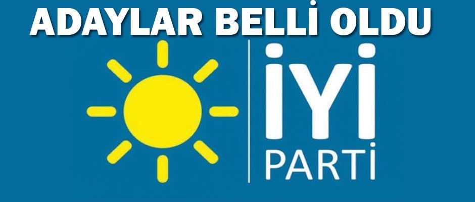 İYİ Parti Eskişehir adayları belli oldu