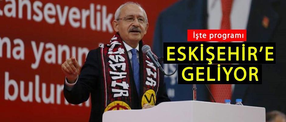 Kemal Kılıçdaroğlu'nun  Eskişehir programı netleşti