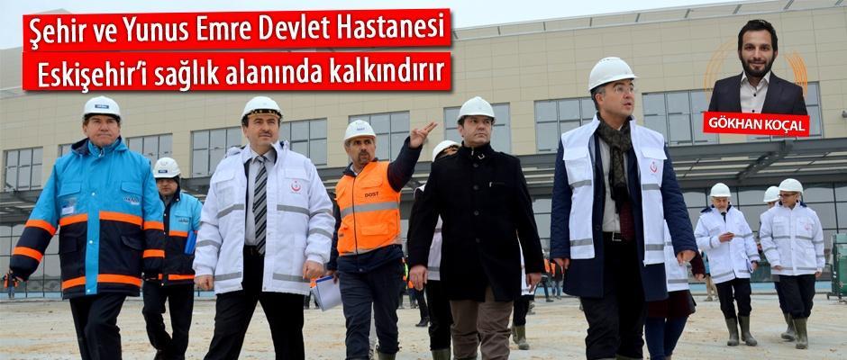 Eskişehir'e sağlıkta 1,3 milyarlık yatırım