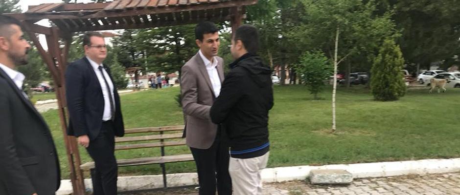 MHP adayları bayram kutlamasında