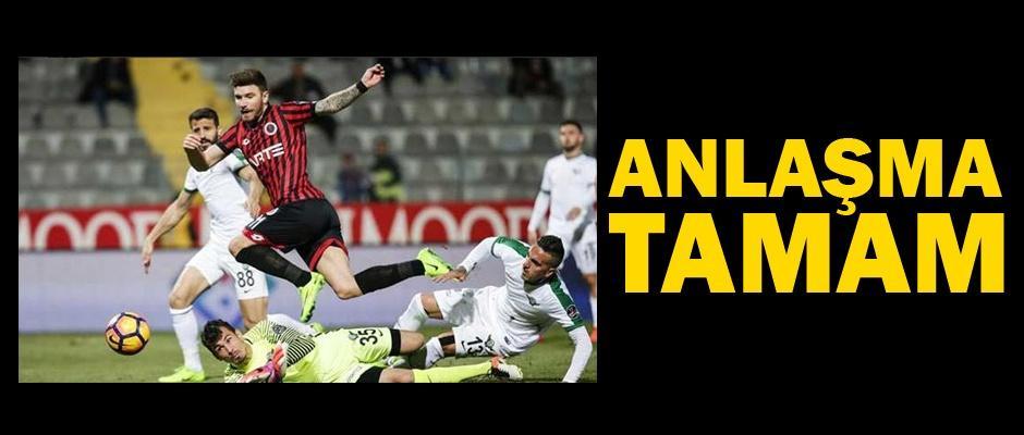 Tecrübeli oyuncu Eskişehirspor'a