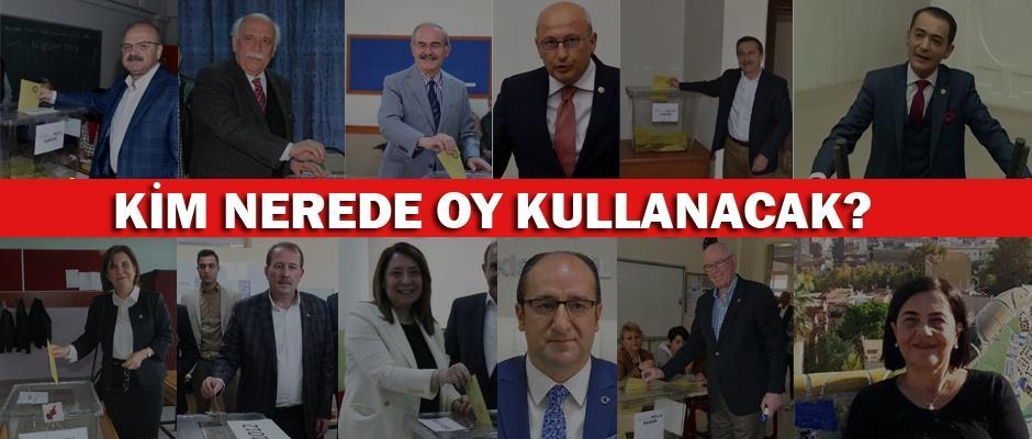 Eskişehir'de kim nerede oy kullanacak?
