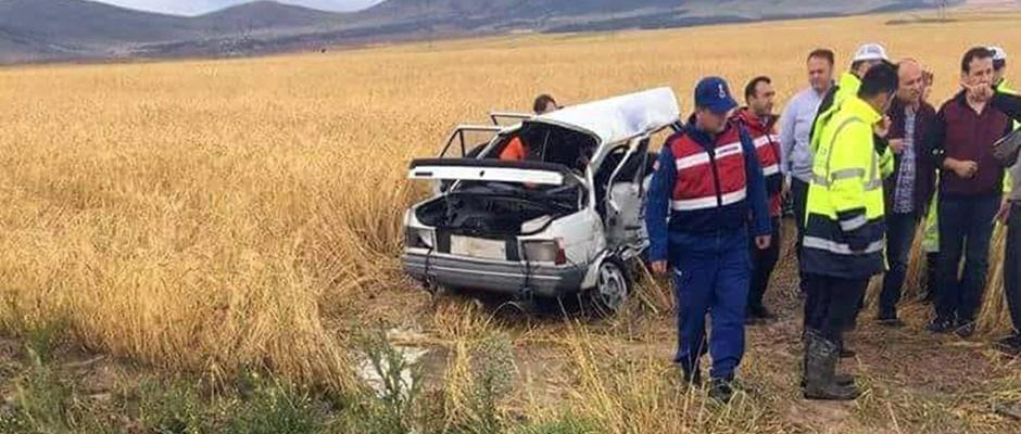 Afyonkarahisar'da feci kaza: 4 ölü, 1 yaralı