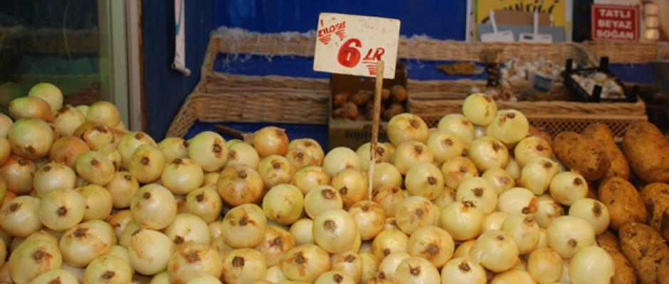 Eskişehir'de soğan ve patatesin kilosu kaç lira oldu?