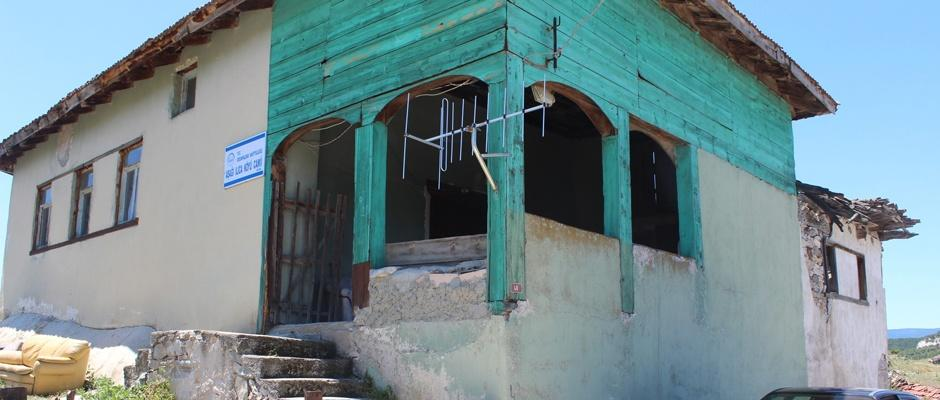 Osmanlı eseri cami yok olmanın eşiğinde