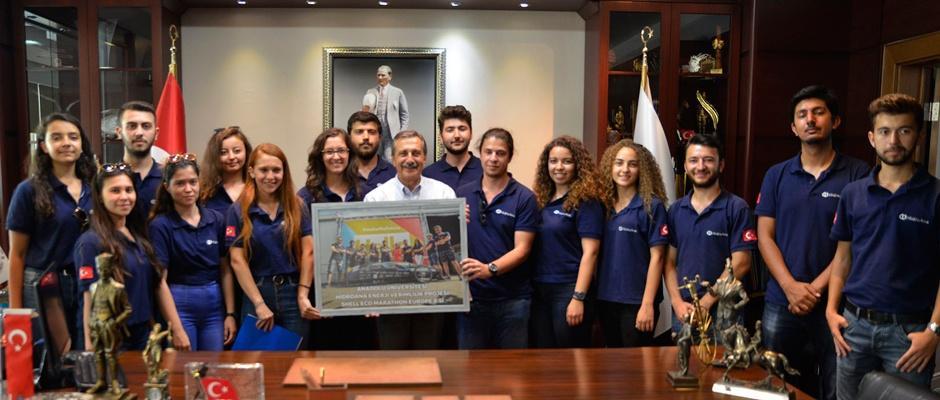 HidroAna Takımı'nda Başkan Ataç'a ziyaret