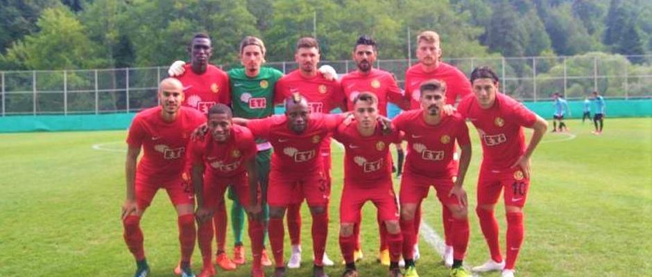 Eskişehirspor:4 - Hacettepe:2
