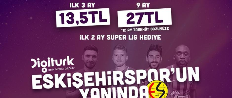 Eskişehirspor maçları daha ucuz