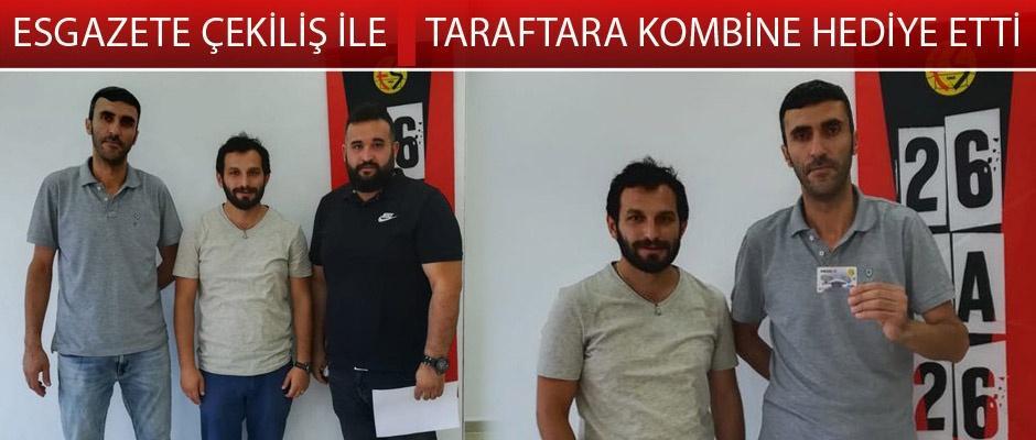 Eskişehirspor taraftarları kombinelerini teslim aldı