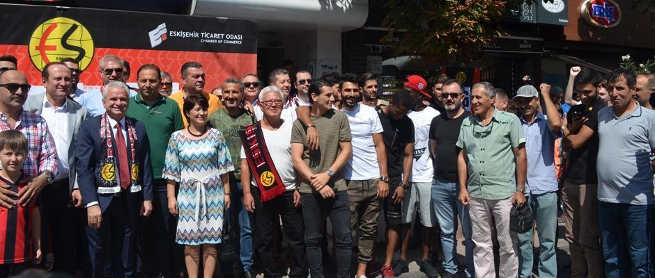Eskişehirspor'a bir nefeste ETO'dan