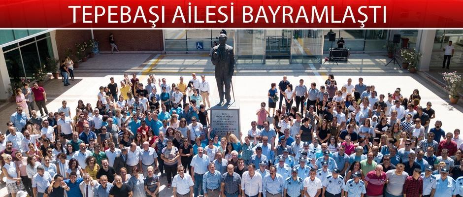 Başkan Ataç personel ile bayramlaştı