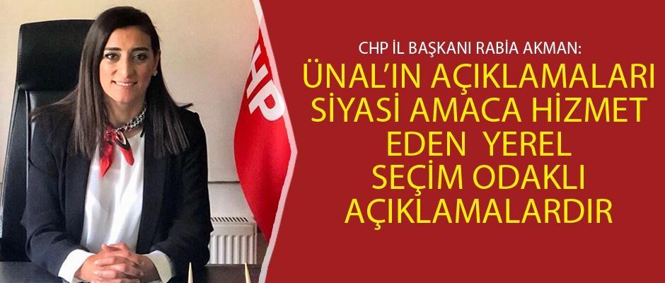 CHP'den Halil Ünal'a sert cevap