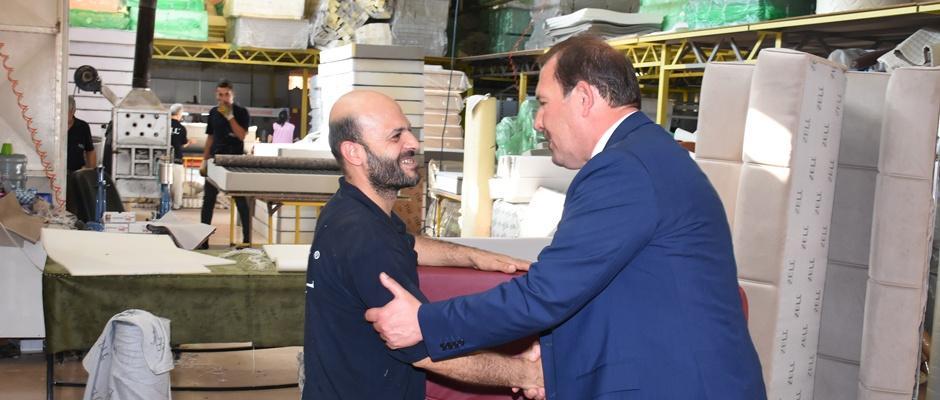 Karacan'dan Muttalip OSB'ye Ziyaret