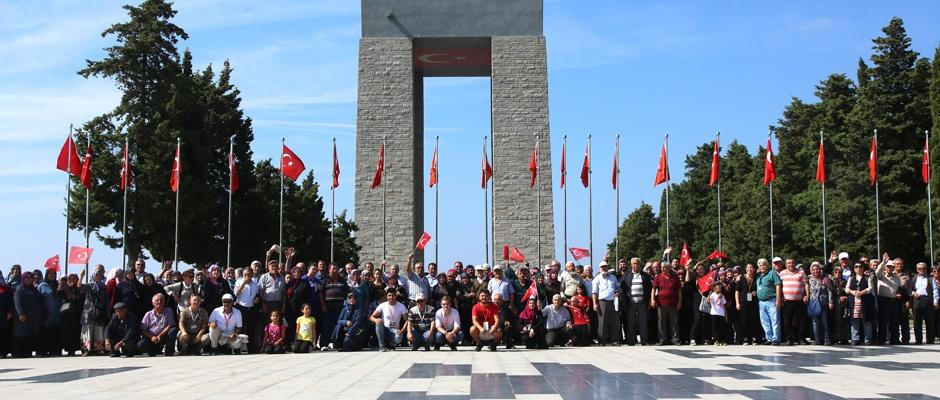 Çanakkale'ye tarihi gezi
