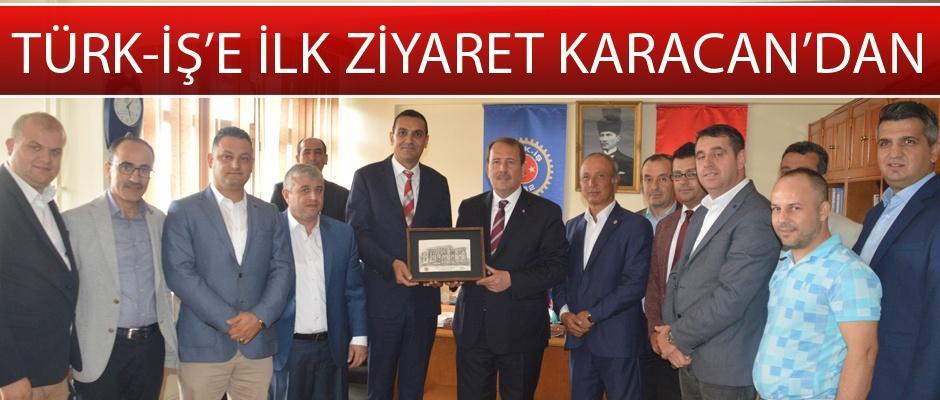 Karacan'dan birlik mesajı