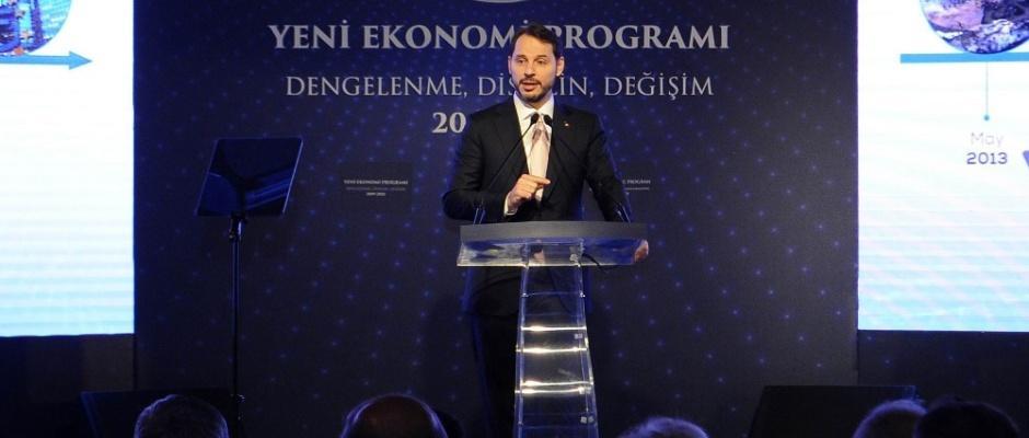 Albayrak yeni ekonomik programı açıkladı