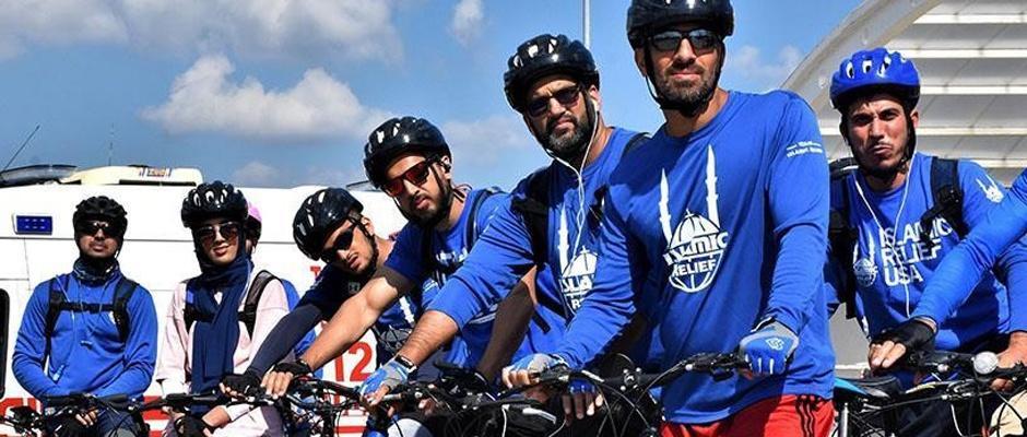 Bisikletli gezginler Osmanlı'nın izlerini arıyor