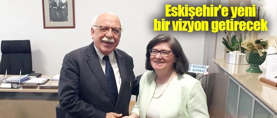Nabi Avcı'dan yeni rektöre ziyaret