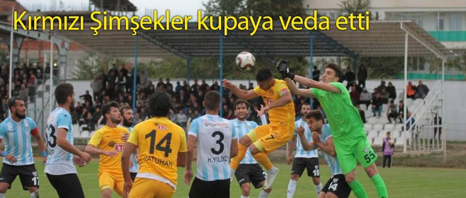 Eskişehirspor kupada kayıp