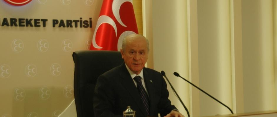 """MHP lideri Bahçeli'den """"af"""" açıklaması"""