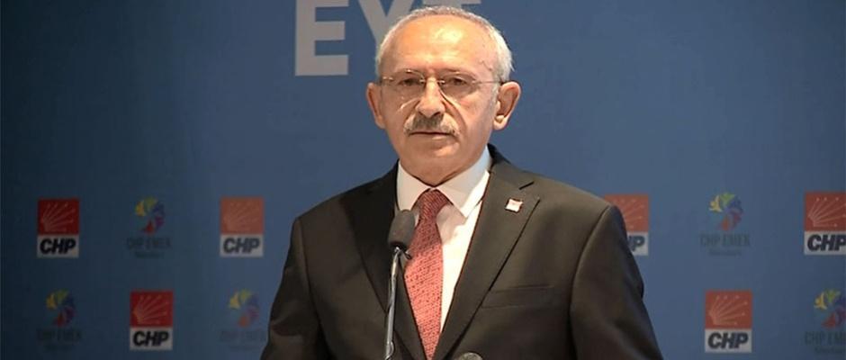 Kılıçdaroğlu'ndan 'sendikalaşma' vurgusu