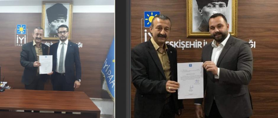 İYİ Parti  Odunpazarı ile Tepebaşı ilçe Başkanları belli oldu