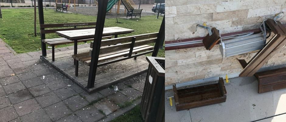 Halk merkezine zarar verenler yakalandı