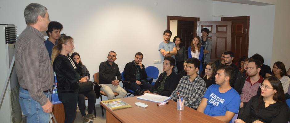 Öğrenciler Makina Mühendisleri Odasında buluştu