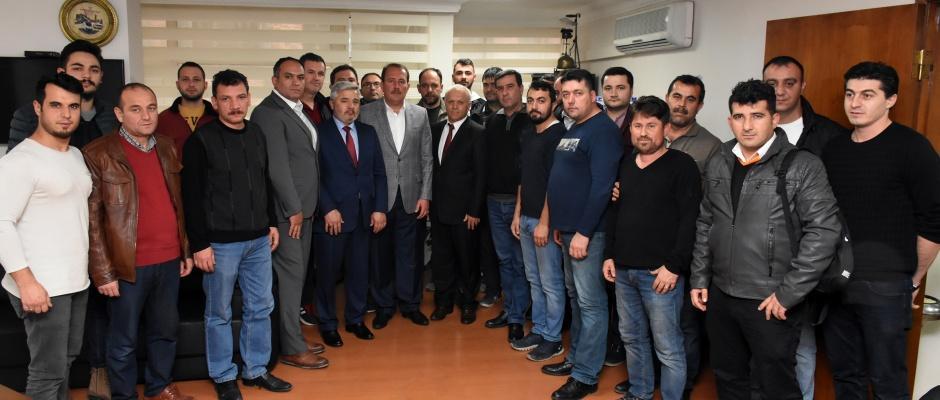 Karacan'dan, Demiryol-İş'e Ziyaret
