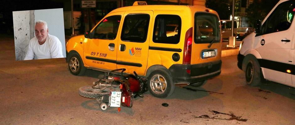 Sandıklı'da trafik kazası: 1 ölü