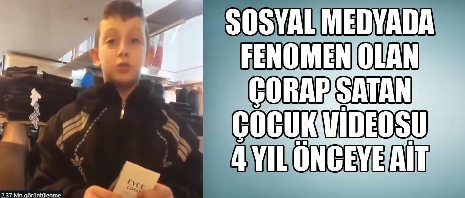 Türkiye çorap satan minik çocuğu konuşuyor