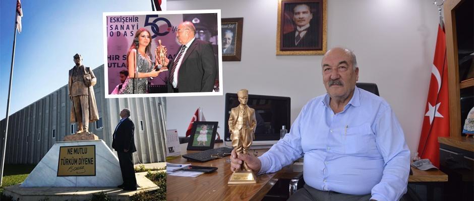 Eskişehirli iş adamının Atatürk sevgisi
