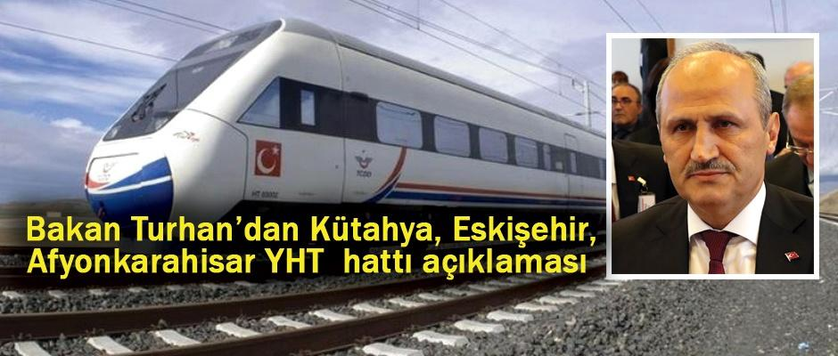 Kütahya, Eskişehir, Afyonkarahisar'a yüksek bağlantı!