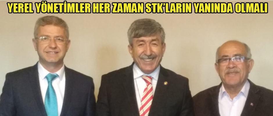 Ali Acar'dan Türk Ocağı'na ziyaret